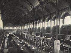 Henri Labrouste 1843 Bibliothèque Sainte Geneviève