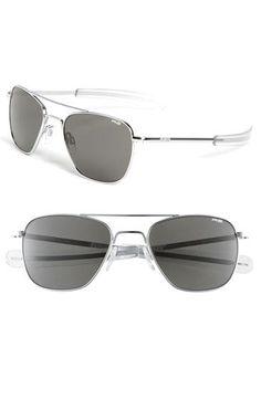 67aa3f7b34b8 Randolph Engineering Randolph Engineering 55mm Aviator Sunglasses