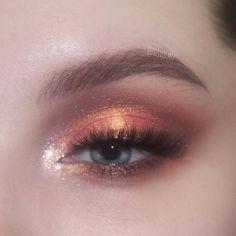 Makeup Eye Looks, Eye Makeup Art, Cute Makeup, Pretty Makeup, Skin Makeup, Eyeshadow Makeup, Sommer Make-up Looks, Sommer Make Up, Makeup Trends