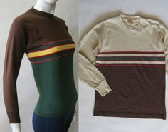 1960's / early 70's color block and striped by afterglowvintage, $24.00