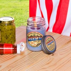 Merica Candle