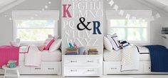 Decorator Shared Spaces girls Bedroom