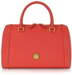 Saffiano Leather Satchel / POPSUGAR Shopping: MCM Nuovo