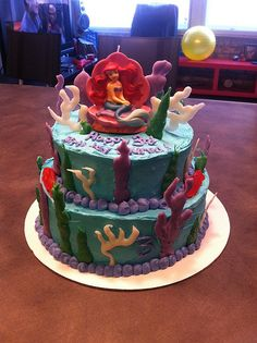 Tiffany Bakes Cakes - Little Mermaid Cake