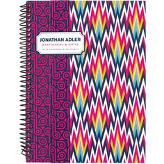 Jonathan Adler Dunbar Road Mini Notebook found on Polyvore