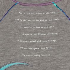 0f2b53d5 Girls' Jurassic World French Terry Short Sleeve T-Shirt - Heather Gray S
