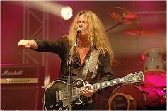 Jon Sykes of Thin Lizzy
