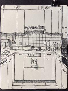 Sketchbook Skool – Week Six – Andrea Foenander Perspective Art, Art Drawings Simple, Art Painting, Sketch Book, Art Drawings, Drawings, Art, Canvas Art, Aesthetic Art