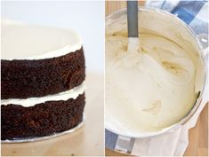 Perfect chocolate cake with perfect vanilla frosting {kitchen simplicity}