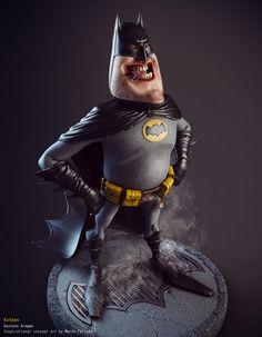 Batman by Gustavo Groppo 1246px X 1600px