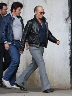 Johnny Depp Photos - Amber Heard Visits Johnny Depp On The Set Of 'Black Mass' - Zimbio