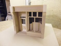 1/12 scale Dolls House Shop Box .. Fore by DollsHouseDirect, £35.00