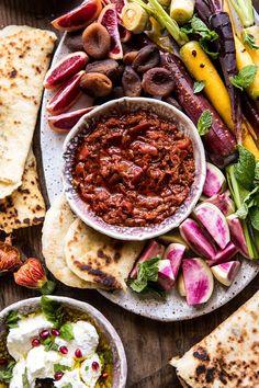 Moroccan Dip Platter   halfbakedharvest.com #spring #easter #recipes #healthy #appetizer