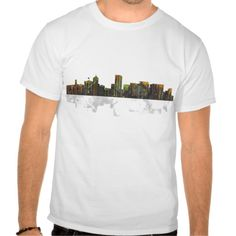 Portland Oregan Skyline T Shirt, Hoodie Sweatshirt