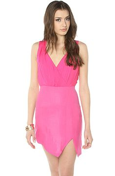 Keepsake Dress The Into the Flame Dress in Pink.: Miss KL