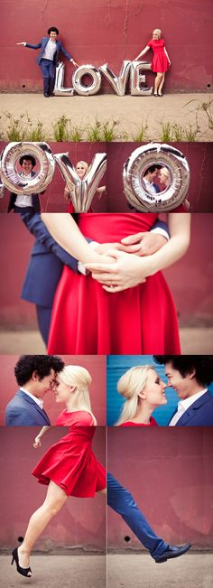 wish we'd done an engagement shoot like this before we got hitched! inspired, vibrant, fun.