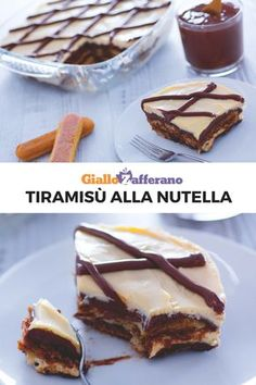 See our best selection of posts that dive into Italian food and wine! Nutella Recipes, Brownie Recipes, Cheesecake Recipes, Dessert Recipes, Cheesecakes, Delicious Desserts, Yummy Food, Nutella Cake, Tummy Yummy