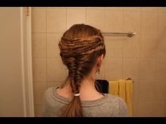 Recreating the Vestal Virgin Hairstyle | Video - YouTube