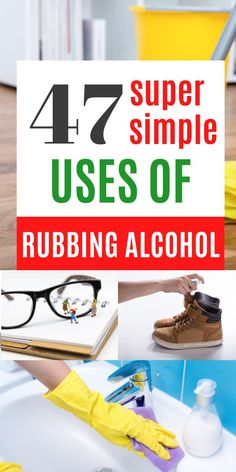 Household Cleaning Tips, Kitchen Cleaning, Cleaning Recipes, House Cleaning Tips, Deep Cleaning, Cleaning Hacks, Rubbing Alcohol Uses, Work Folders, How To Clean Makeup Brushes
