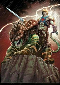 Masters of the Universe. He Man