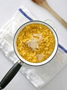 pumpkin parmesan risotto... yum!