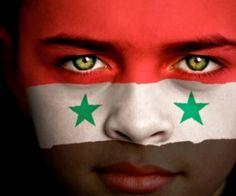 Syrian Flag Face
