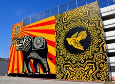 West Hollywood, California - By Shepard Fairey