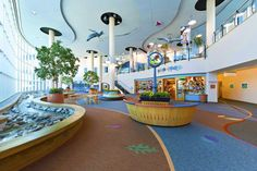 Omaha Children's Hospital- Powerbond inlays and Imaginations