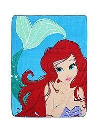Disney The Little Mermaid Ariel Super Plush Throw