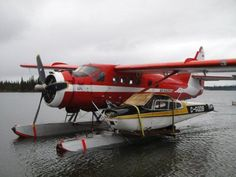 Prudent pilots always carry a spare fuselage. Just in case. Aviation Humor, Civil Aviation, Bush Pilot, Amphibious Aircraft, Bush Plane, Float Plane, Airplane Photography, Flying Boat, Aircraft Photos