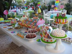 Sweet 16 birthday on Pinterest | Candyland, Candy Bars and ...