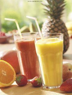 shakes caseiros para emagrecer de frutas