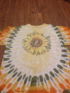 Vintage 1994 grateful dead shirt tie dye