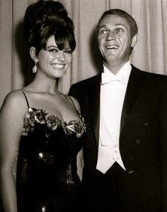 Claudia Cardinale & Steve McQueen