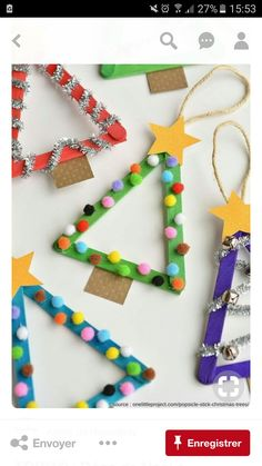 Easy Christmas Crafts That'll Turn Your Home Into a Winter Wonderland Let your creative juices flow during this holiday season. Easy Christmas Crafts for Kids – The JoyEasy Christmas Crafts for Kids – Christmas Craft Christmas Crafts DIY Easy Fun Projects Preschool Christmas, Easy Christmas Crafts, Christmas Activities, Diy Christmas Ornaments, Christmas Projects, Simple Christmas, Homemade Ornaments, Christmas Tree Decorations For Kids, Homemade Christmas