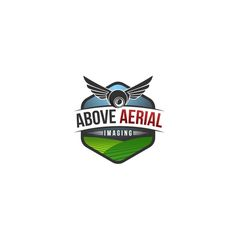 Create A Logo Illustration For Drone Company Specializing In Rural Landscapes