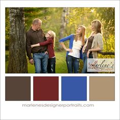 Brown, Burgundy, Blue, Taupe and White Colour Palette