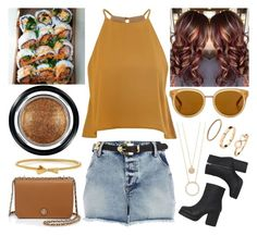 """""""Going out"""" by musicmelody1 on Polyvore featuring Glamorous, River Island, Monki, Draper James, Kate Spade, H&M, Giorgio Armani and Tory Burch"""