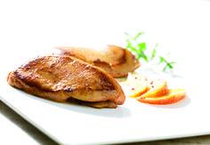 Escalopes de foie de canard aux pommes