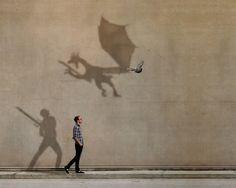 shadow play.     boywonder.Etsy.com