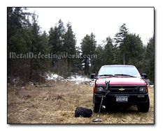 4x4 Off-Road Vehicle for Treasure Hunting