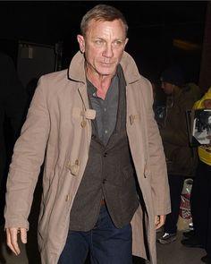 Daniel Craig in New York ❤️💙 New James Bond, Daniel Craig James Bond, Rachel Weisz, Daniel Craig Style, Logan Lucky, Daniel Graig, Best Bond, Z Cam, Celebrity Dads
