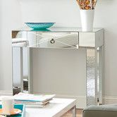 Found it at Wayfair - Mirrored Console Table