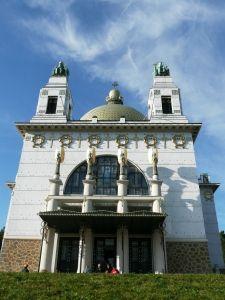 Otto Wagner Kirche am Steinhof (Art Nouveau Church), Vienna, Austria
