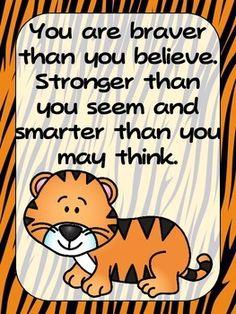 FREEBIE-Zoo-Animals-Positive-Quote-Posters-Jungle-Safari-Theme-1381832 Teaching Resources - TeachersPayTeachers.com