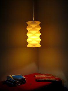 paper lamp shade CINDERELLA. €95,00, via Etsy.