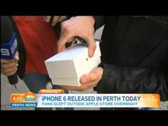 First owner of iPhone 6 released in Perth; drops it on concrete floor - http://www.tripletremelo.com/first-owner-of-iphone-6-released-in-perth-drops-it-on-concrete-floor/