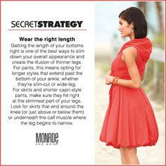 Secret Strategy #52: Wear the right length
