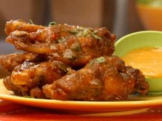 Trini Tamarind Wings recipe from Throwdown with Bobby Flay via Food Network Food Network Recipes, Food Processor Recipes, Cooking Recipes, Vegetarian Recipes, Trinidadian Recipes, Tamarind Sauce, Tamarind Recipes, Caribbean Recipes, Caribbean Food
