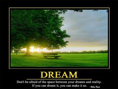 """Motivational inspirational quotes """" DREAM """" print on silk Wall Art Creative Landscape Poster Home Deco Gift (Mainland)) Motivational Quotes Wallpaper, Funny Motivational Quotes, Hd Quotes, Inspirational Wallpapers, Wallpaper Quotes, Inspirational Quotes, Hd Wallpaper, Life Quotes, Dream Wall"""